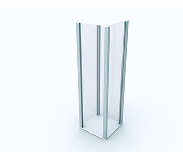 Modern Plinth Display GJ Plastics