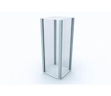 Plinth Display 50cm tall GJ Plastics