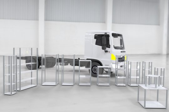 Product Display Plinths and Shelving By GJ Plastics